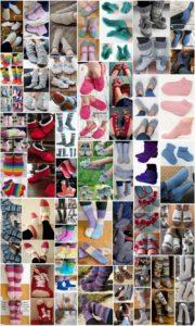 50 Cozy Crochet Sock and Slipper Patterns
