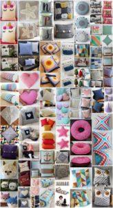 50 Easy Crochet Pillow Patterns