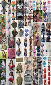 50 Perfect Free Crochet Poncho Patterns