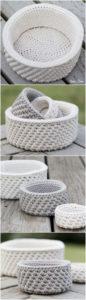 Crochet Basket Pattern (12)