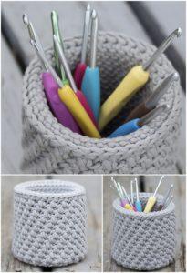 Crochet Basket Pattern (15)