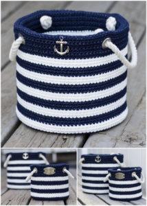 Crochet Basket Pattern (16)