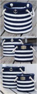 Crochet Basket Pattern (17)