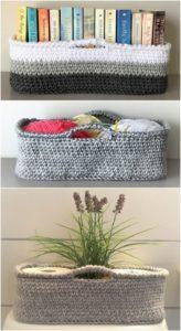 Crochet Basket Pattern (20)