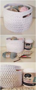 Crochet Basket Pattern (22)