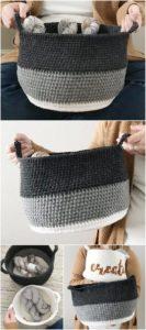 Crochet Basket Pattern (24)