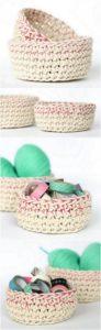 Crochet Basket Pattern (25)