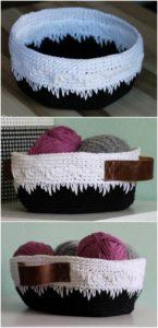 Crochet Basket Pattern (28)