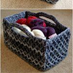Crochet Basket Pattern (3)
