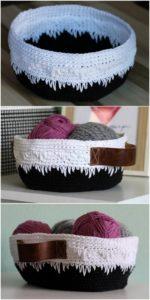 Crochet Basket Pattern (30)