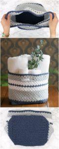 Crochet Basket Pattern (36)