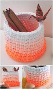 Crochet Basket Pattern (39)