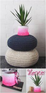 Crochet Basket Pattern (40)