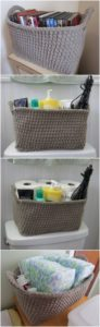Crochet Basket Pattern (42)