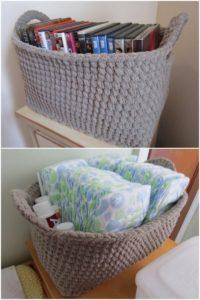 Crochet Basket Pattern (44)