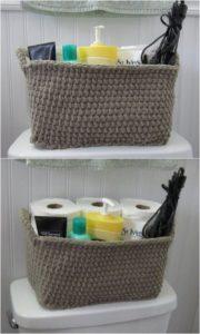Crochet Basket Pattern (45)