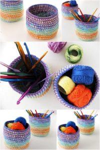 Crochet Basket Pattern (46)