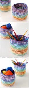 Crochet Basket Pattern (47)
