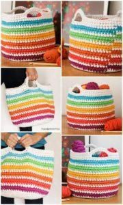 Crochet Basket Pattern (51)