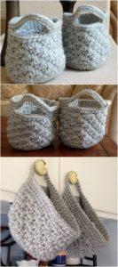 Crochet Basket Pattern (55)