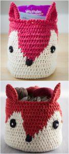 Crochet Basket Pattern (58)