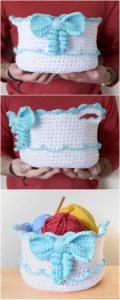 Crochet Basket Pattern (61)