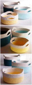 Crochet Basket Pattern (69)
