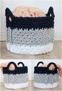 Crochet Basket Pattern (7)