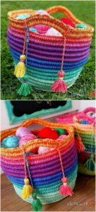 Crochet Basket Pattern (72)
