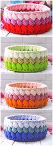 Crochet Basket Pattern (73)
