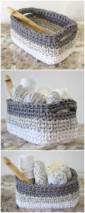 Crochet Basket Pattern (9)