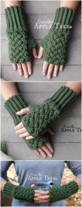 Crochet Gloves Pattern (1)