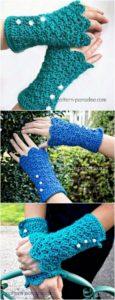 Crochet Gloves Pattern (10)
