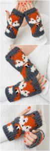 Crochet Gloves Pattern (14)