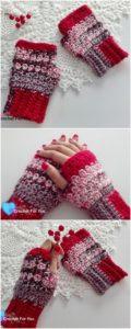 Crochet Gloves Pattern (16)