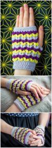 Crochet Gloves Pattern (2)
