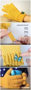Crochet Gloves Pattern (23)