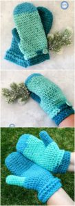 Crochet Gloves Pattern (27)