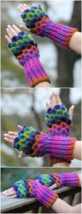 Crochet Gloves Pattern (29)