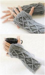Crochet Gloves Pattern (3)