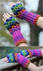Crochet Gloves Pattern (30)