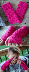 Crochet Gloves Pattern (34)