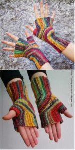 Crochet Gloves Pattern (39)