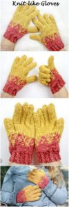 Crochet Gloves Pattern (41)