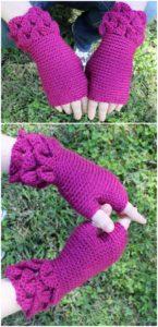 Crochet Gloves Pattern (50)