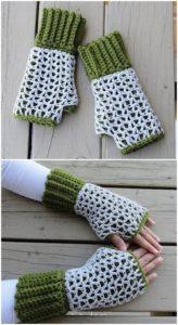 Crochet Gloves Pattern (6)