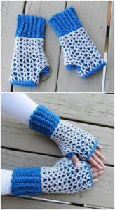 Crochet Gloves Pattern (7)