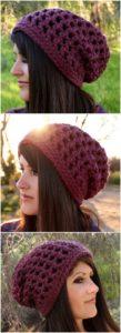 Crochet Hat Pattern (8)