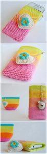 Crochet Mobile Cover Pattern (16)