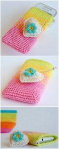 Crochet Mobile Cover Pattern (17)